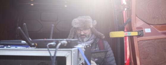 Visual Effects Supervisor on-set at our Norfolk studio